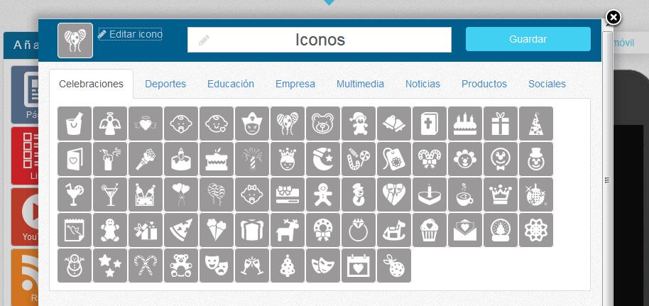 Nueva Colección de iconos